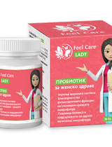 Пробиотик за жени Feel Care LADY - капсули 30 броя